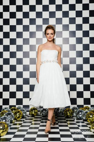 KuessdieBraut 2020 Short Brautkleid Sterntaler 3 bei Exquisit Wedding Dream Brautmode in Rheine