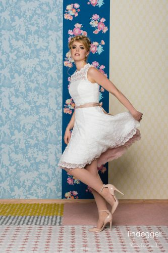 Kurzes Kleid KuessdieBraut 2020 classic Brautkleid Amy 3 bei Exquisit Wedding Dream Brautmode in Rheine
